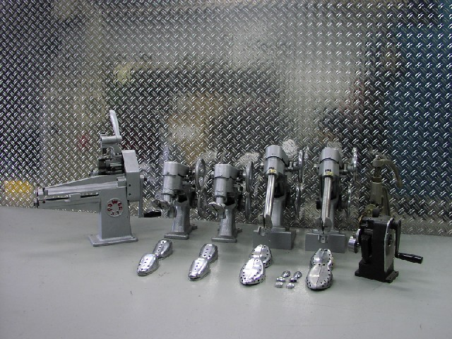 Diverse kleine machines