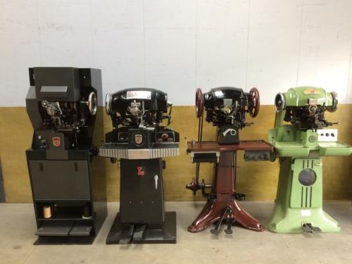Outsole machines